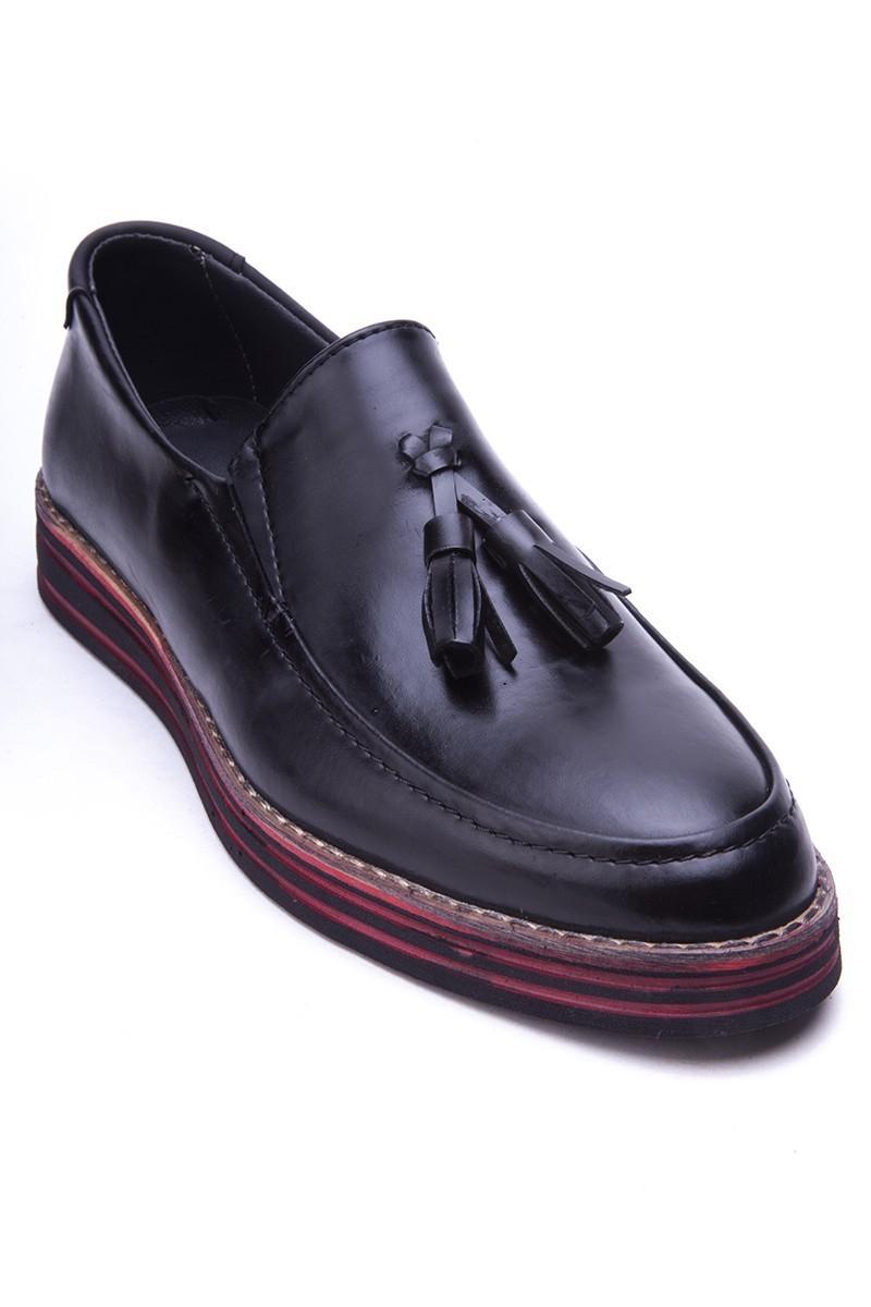 BLUESOIL Siyah BS-20-025 Erkek Ayakkabı