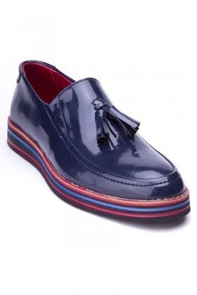 BLUESOIL Lacivert BS-20-025-RGN Erkek Ayakkabı