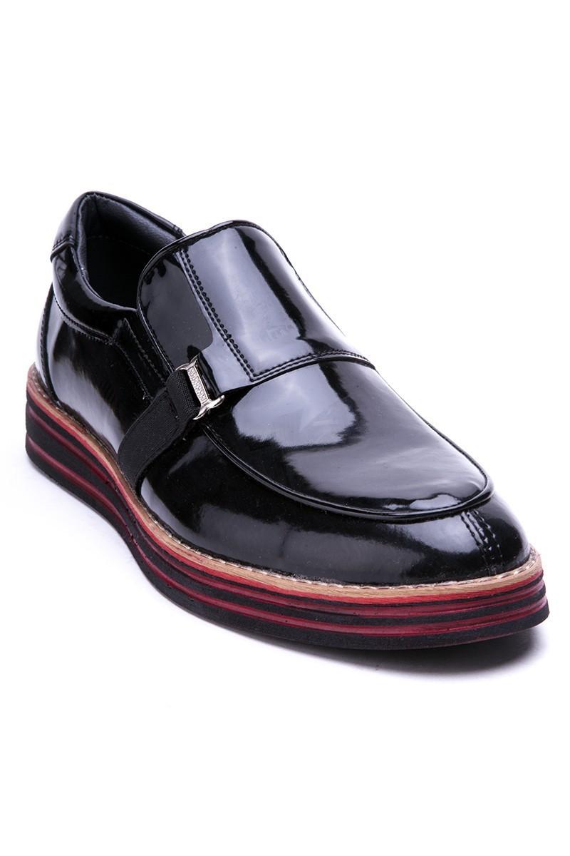 BLUESOIL Siyah BS-20-018-RGN Erkek Ayakkabı