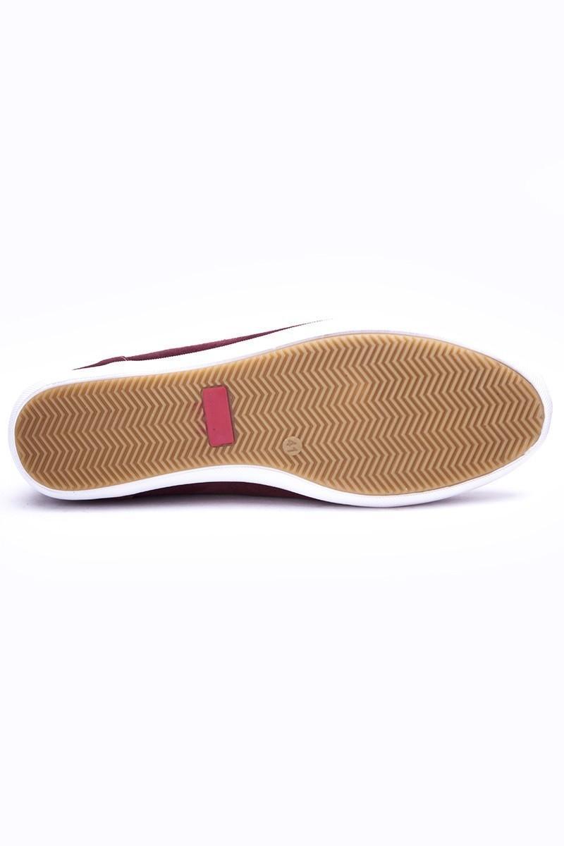 Fresco Bordo FRC-12200 Hakiki Deri Erkek Ayakkabı