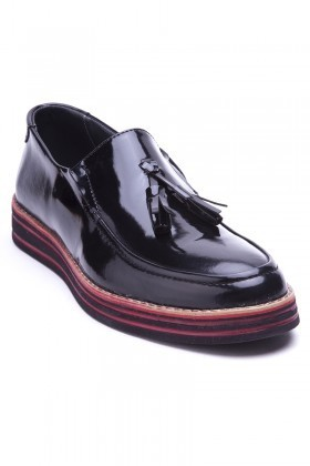 BLUESOIL Siyah BS-20-025-RGN Erkek Ayakkabı