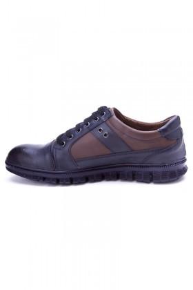 Polomen Lacivert-Kahve PLM-1090 Erkek Ayakkabı