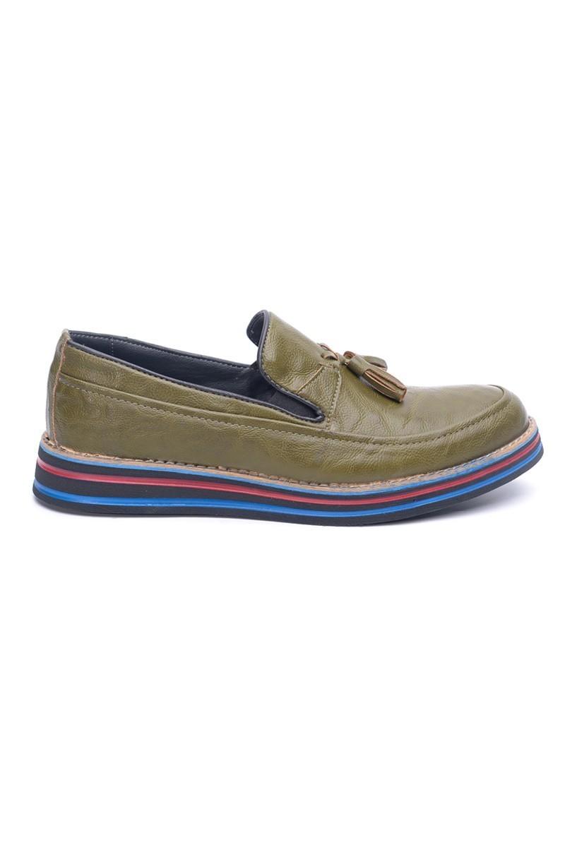 BLUESOIL Yeşil BS-20-012-YSL Erkek Ayakkabı