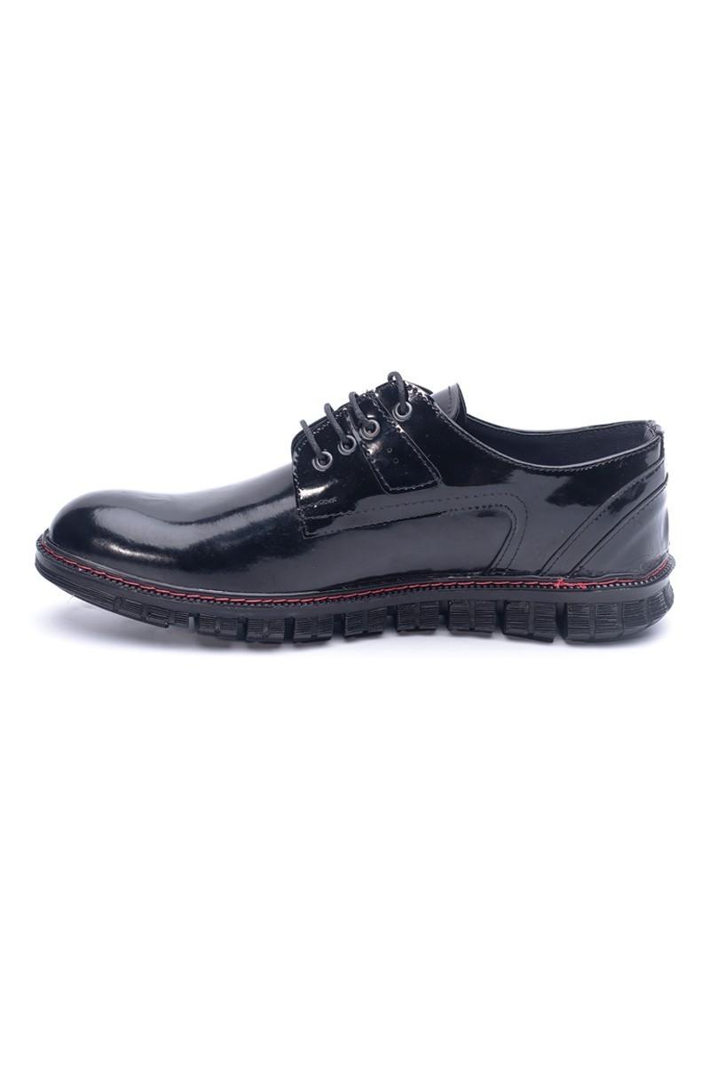 Polomen Siyah PLM-1092-RGN Erkek Ayakkabı