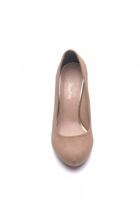 Matraş Toprak MT-1821-T Klasik Topuk Bayan Ayakkabı