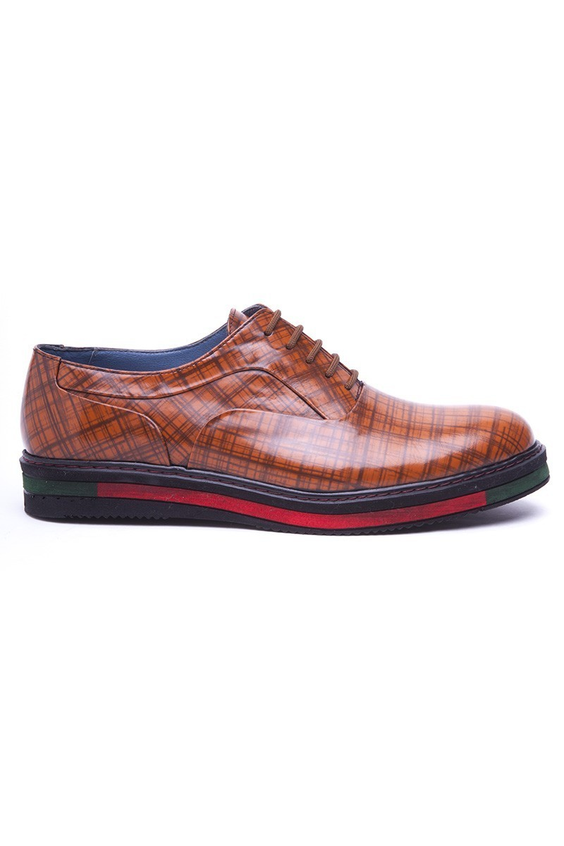 BLUESOIL Taba BS-20-29 Hakiki Deri Erkek Ayakkabı
