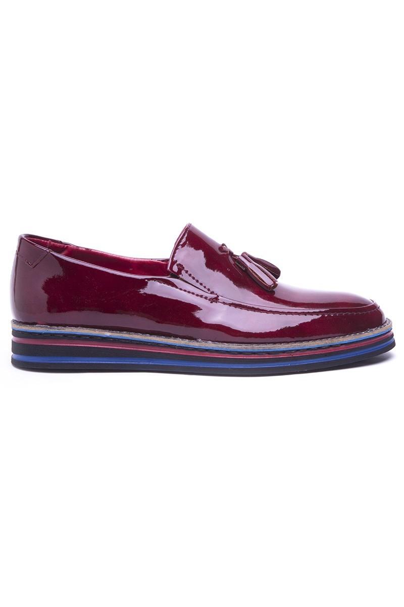 BLUESOIL Vişne BS-20-025-VISNE Erkek Ayakkabı