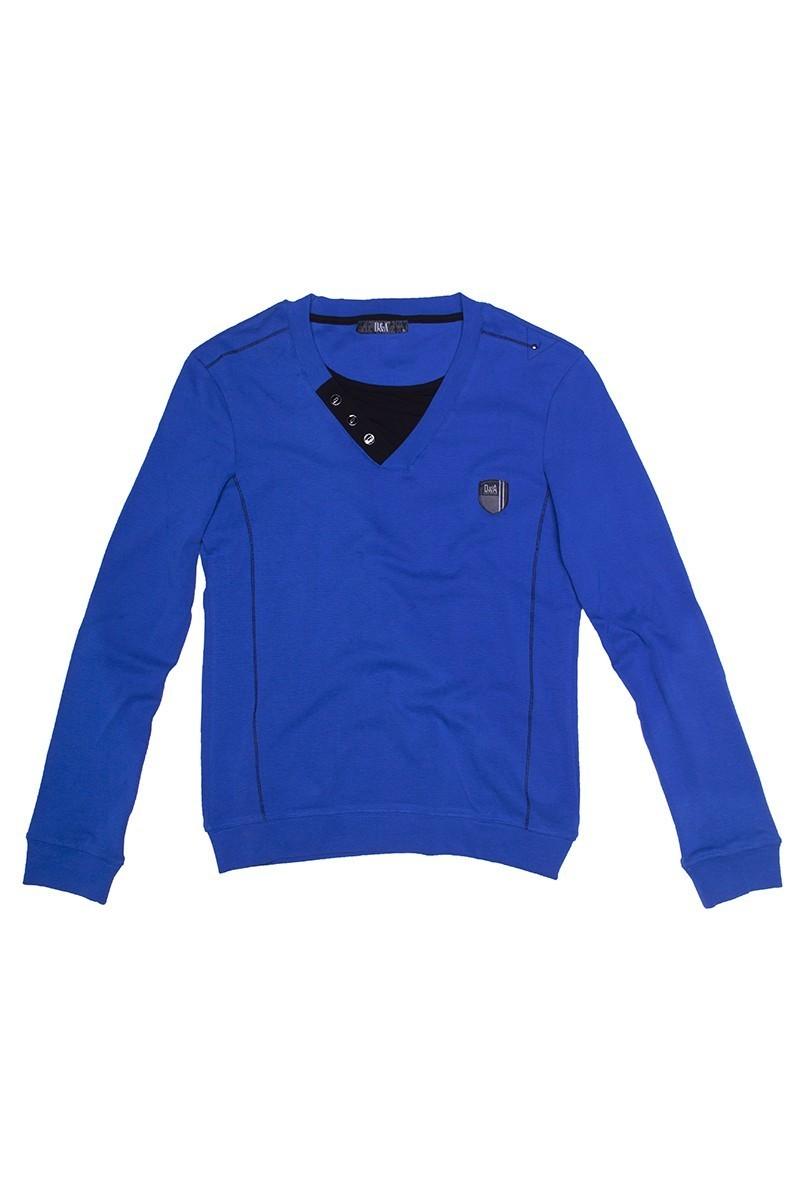 DAS Mavi DS-201UK999 Erkek Sweatshirt