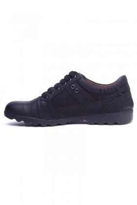 Polomen Siyah PLM-1120 Erkek Ayakkabı