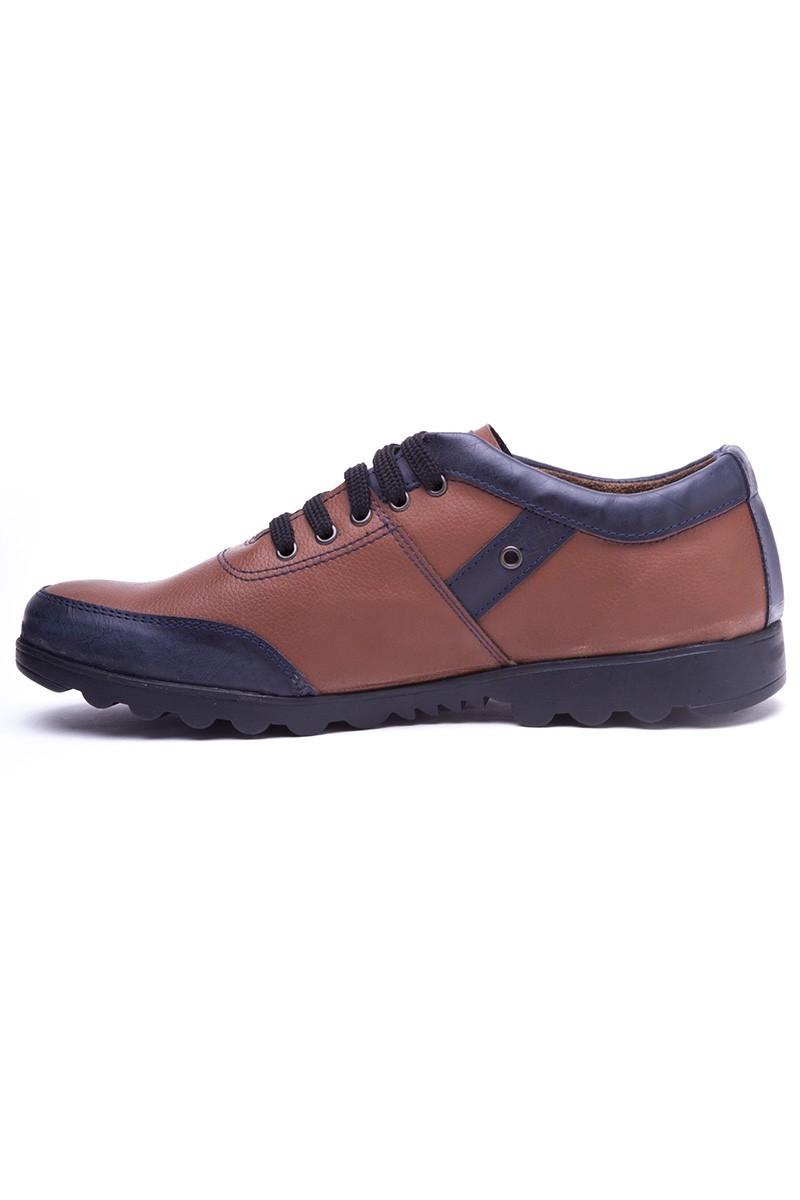 Polomen Taba-Lacivert PLM-1160 Erkek Ayakkabı