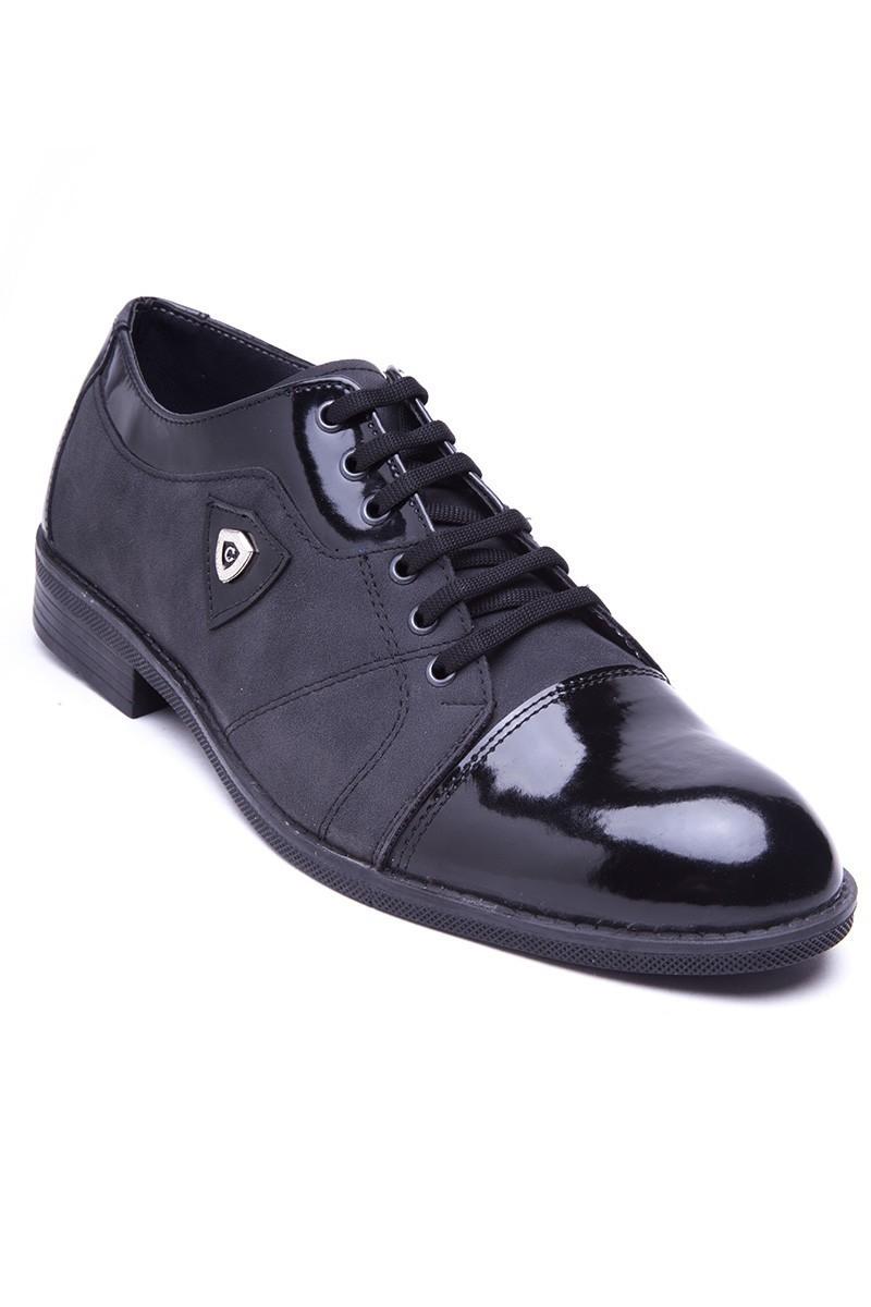 Polomen Siyah PLM-1160 Erkek Ayakkabı