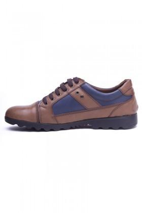 Polomen Vizon-Lacivert PLM-1120 Erkek Ayakkabı