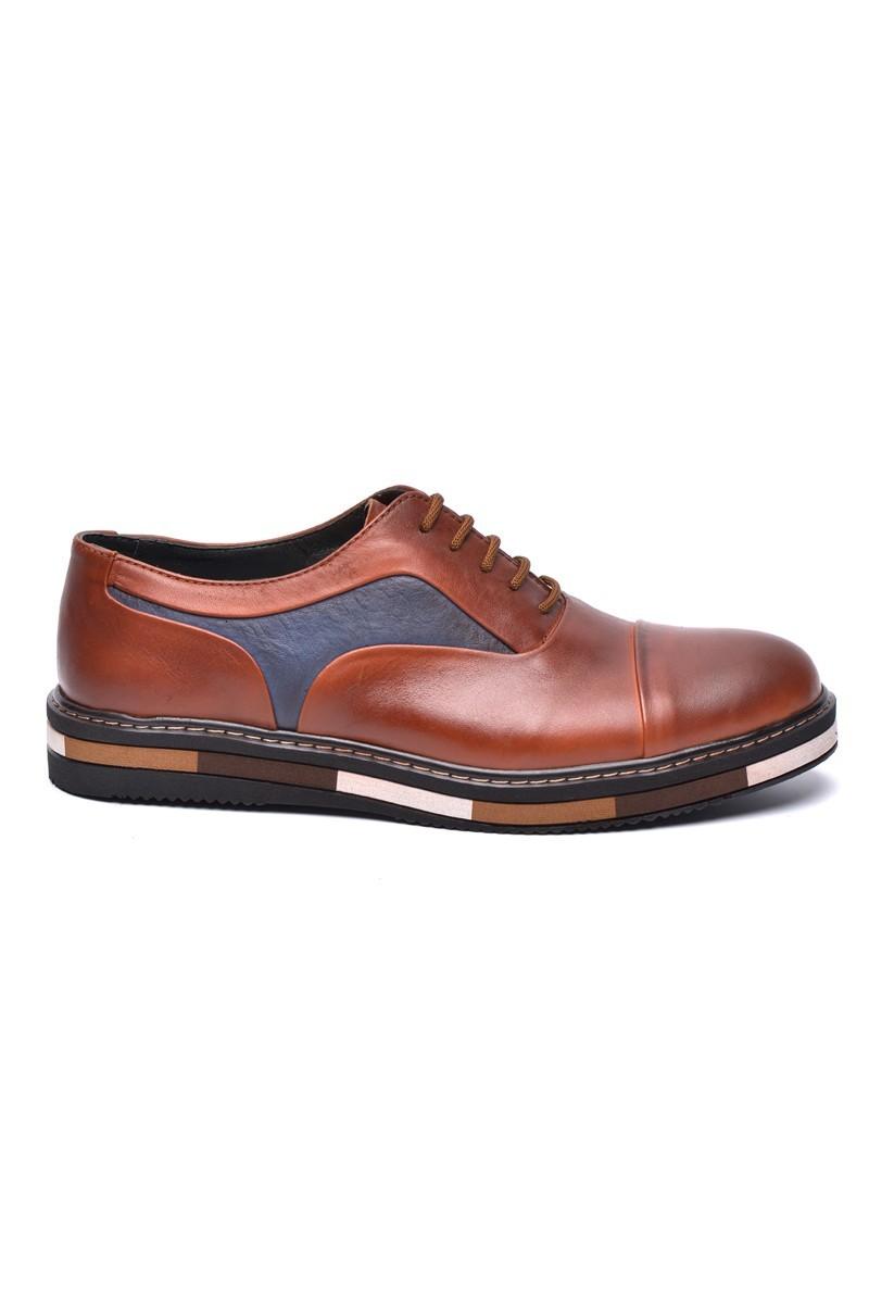 BLUESOIL Taba BS-20-38 Hakiki Deri Erkek Ayakkabı