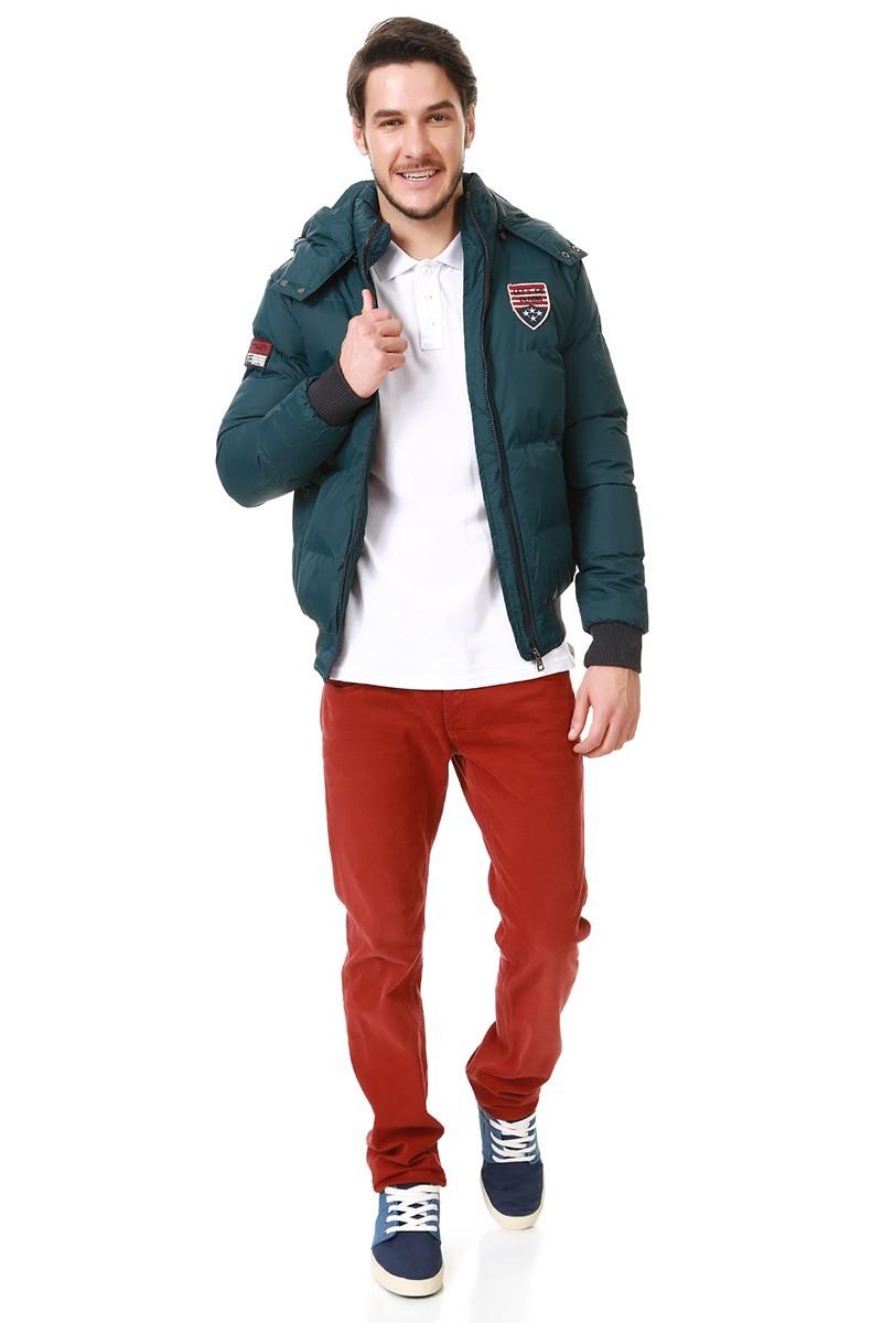 Let's Go Jeans Petrol Mavisi 15K5656-P Erkek Mont