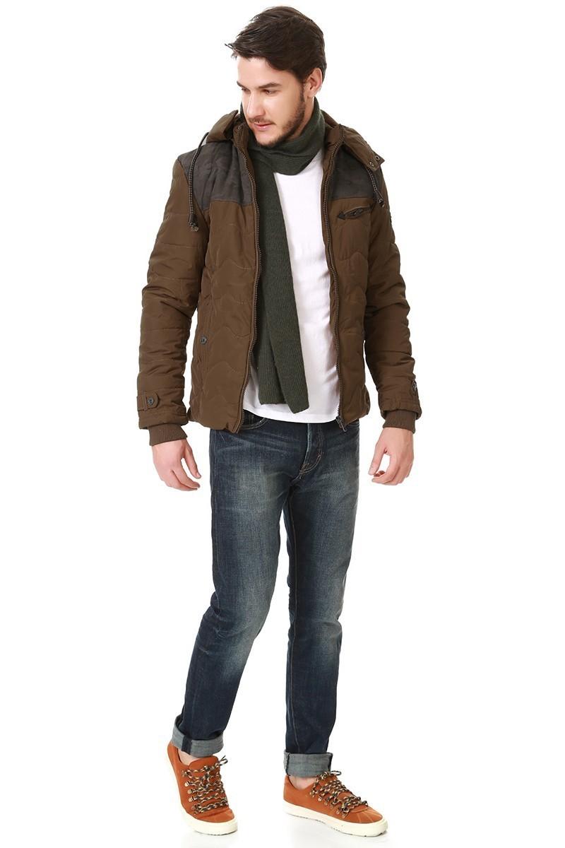Let's Go Jeans Camel 15K5645-C Erkek Mont