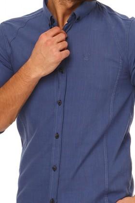 Let's Go Jeans Indigo 14Y6248 Erkek Gömlek