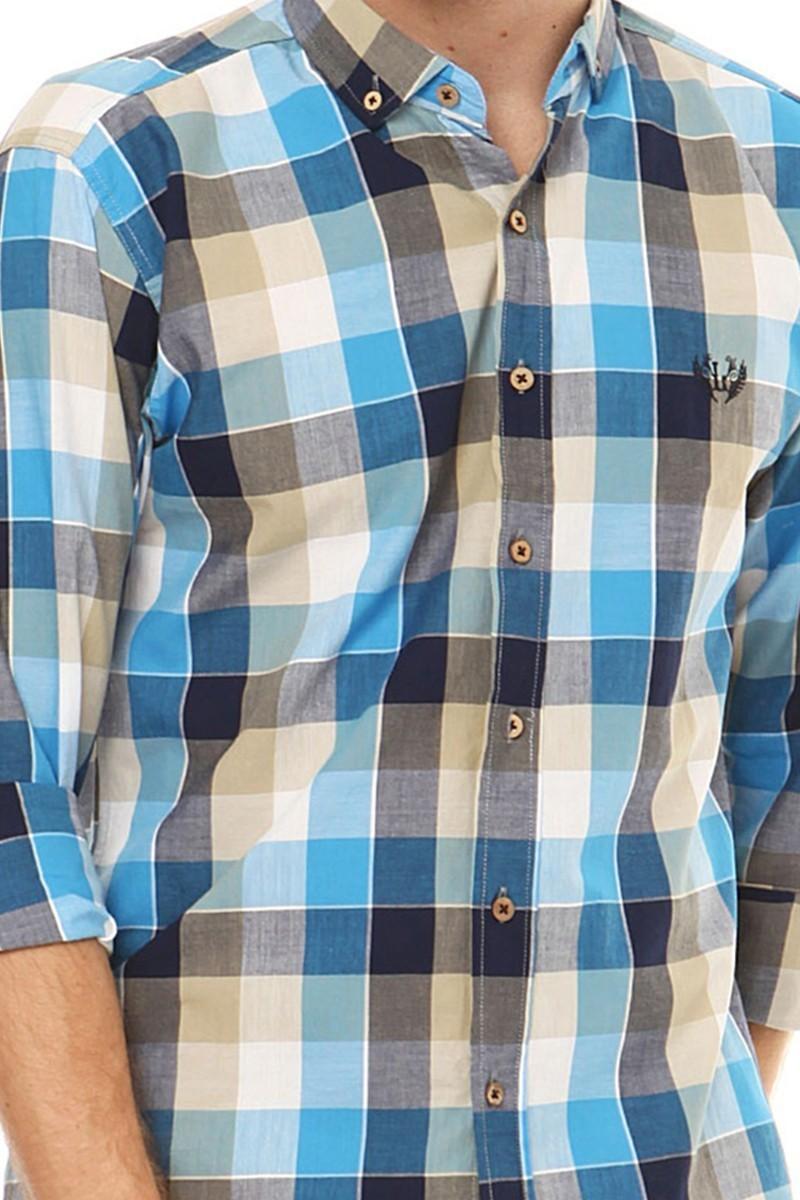 Let's Go Jeans Karışık Renkli 14Y6237 Erkek Gömlek