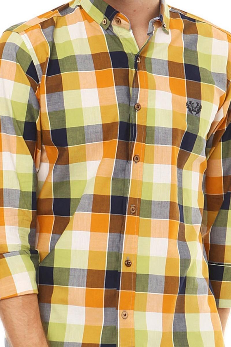Let's Go Jeans Hardal 14Y6236-H Erkek Gömlek