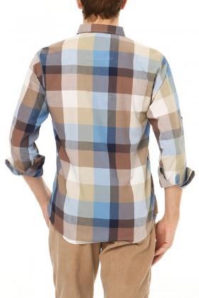 Let's Go Jeans Karışık Renkli 14Y6236 Erkek Gömlek