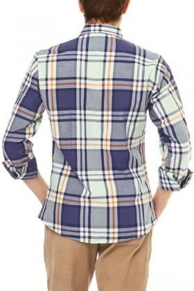 Let's Go Jeans Lacivert 14Y6235-L Erkek Gömlek