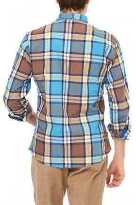 Let's Go Jeans Karışık Renkli 14Y6235 Erkek Gömlek