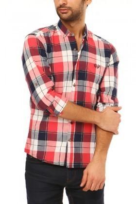 Let's Go Jeans Kırmızı 14Y6234-KR Erkek Gömlek