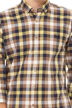 Let's Go Jeans Karışık Renkli 14Y6233-S Erkek Gömlek
