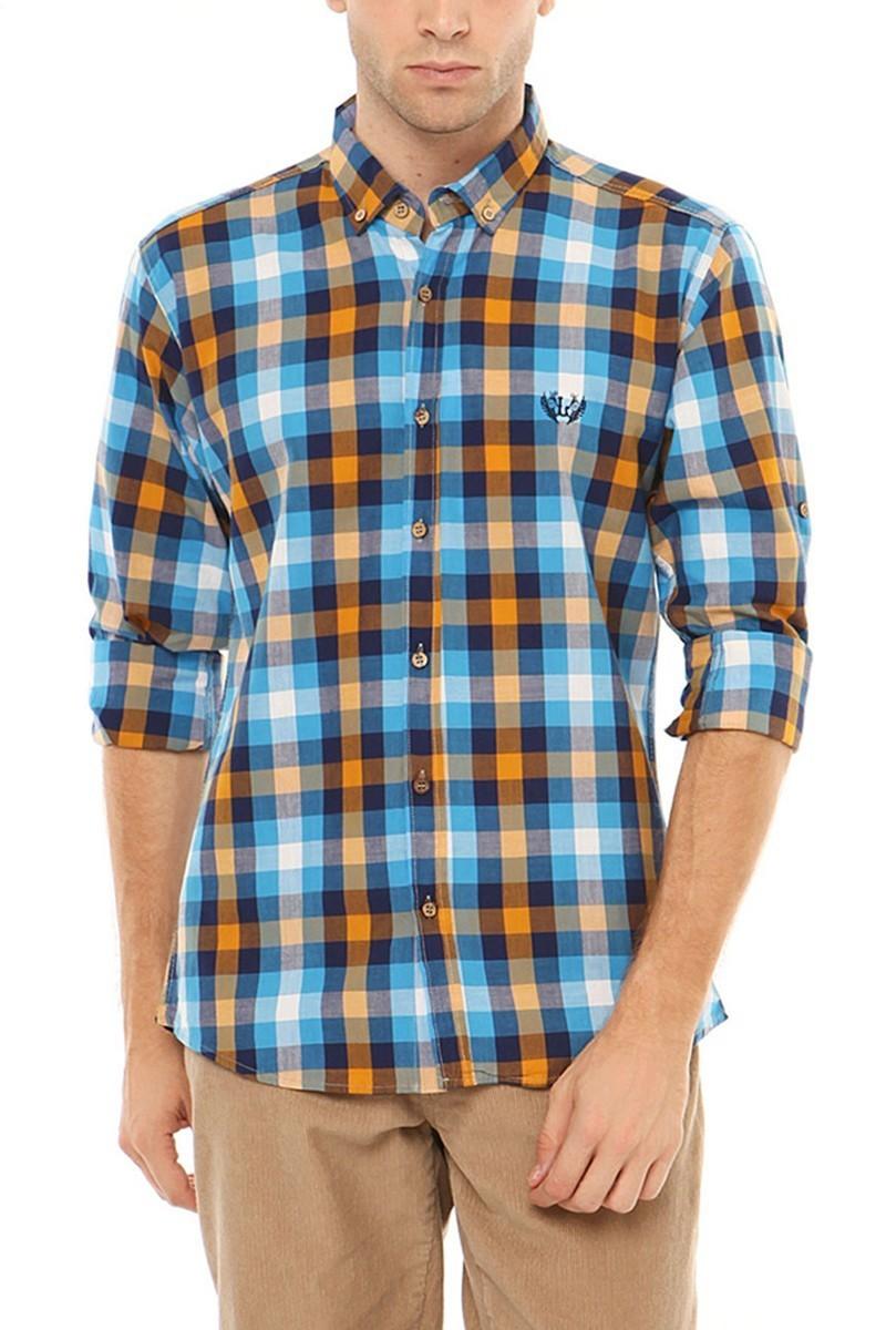 Let's Go Jeans Karışık Renkli 14Y6233 Erkek Gömlek