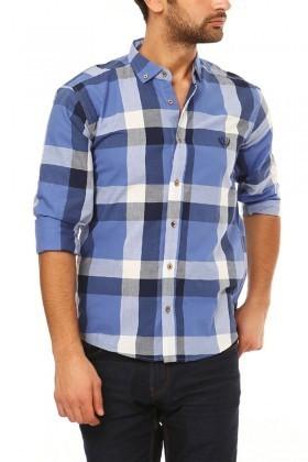 Let's Go Jeans Mavi 14Y6232-M Erkek Gömlek