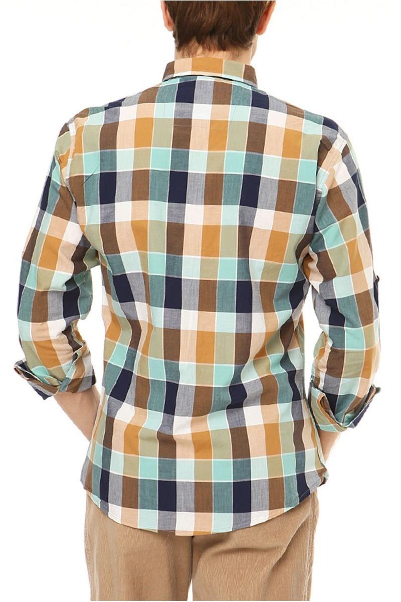 Let's Go Jeans Hardal 14Y6230-H Erkek Gömlek