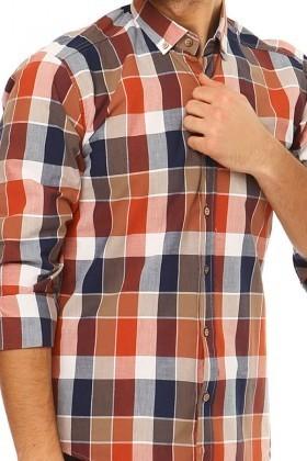 Let's Go Jeans Karışık Renkli 14Y6230 Erkek Gömlek