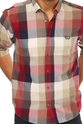 Let's Go Jeans Karışık Renkli 14Y6228-K Erkek Gömlek