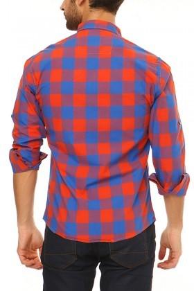 Let's Go Jeans Oranj 14Y6226-O Erkek Gömlek