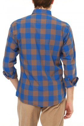 Let's Go Jeans Mavi 14Y6226 Erkek Gömlek