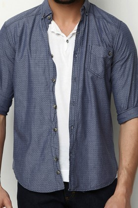 Let's Go Jeans Mavi 14Y6223 Erkek Gömlek