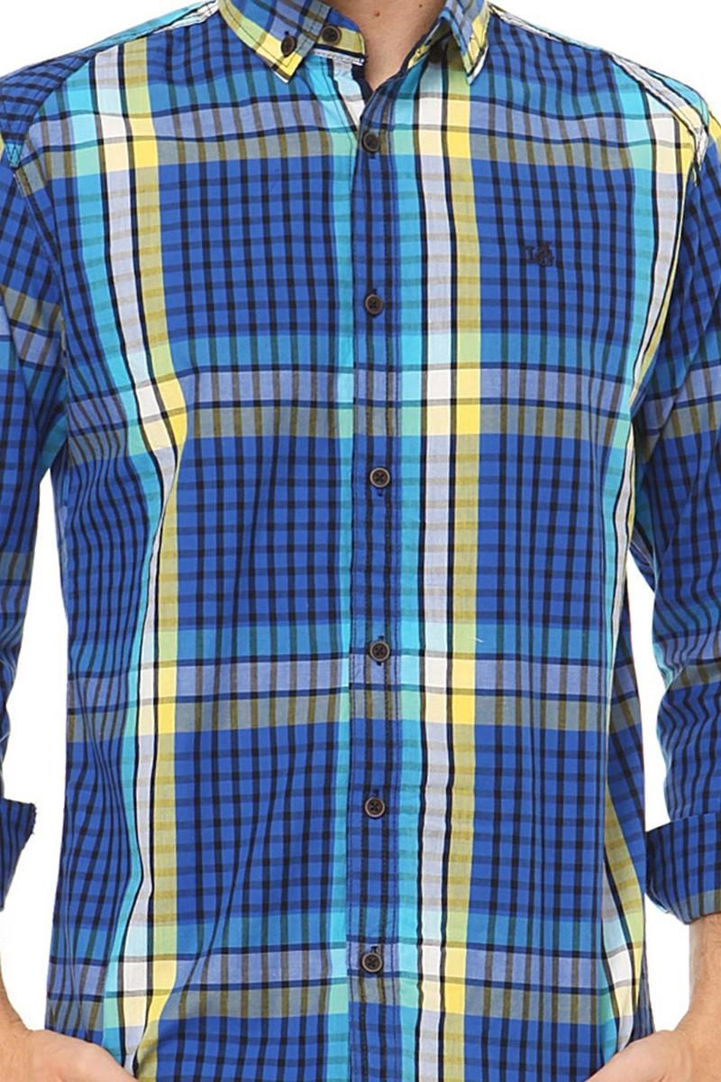 Let's Go Jeans Saks 14Y6209-S Erkek Gömlek