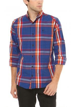 Let's Go Jeans Lacivert 14Y6209-O Erkek Gömlek