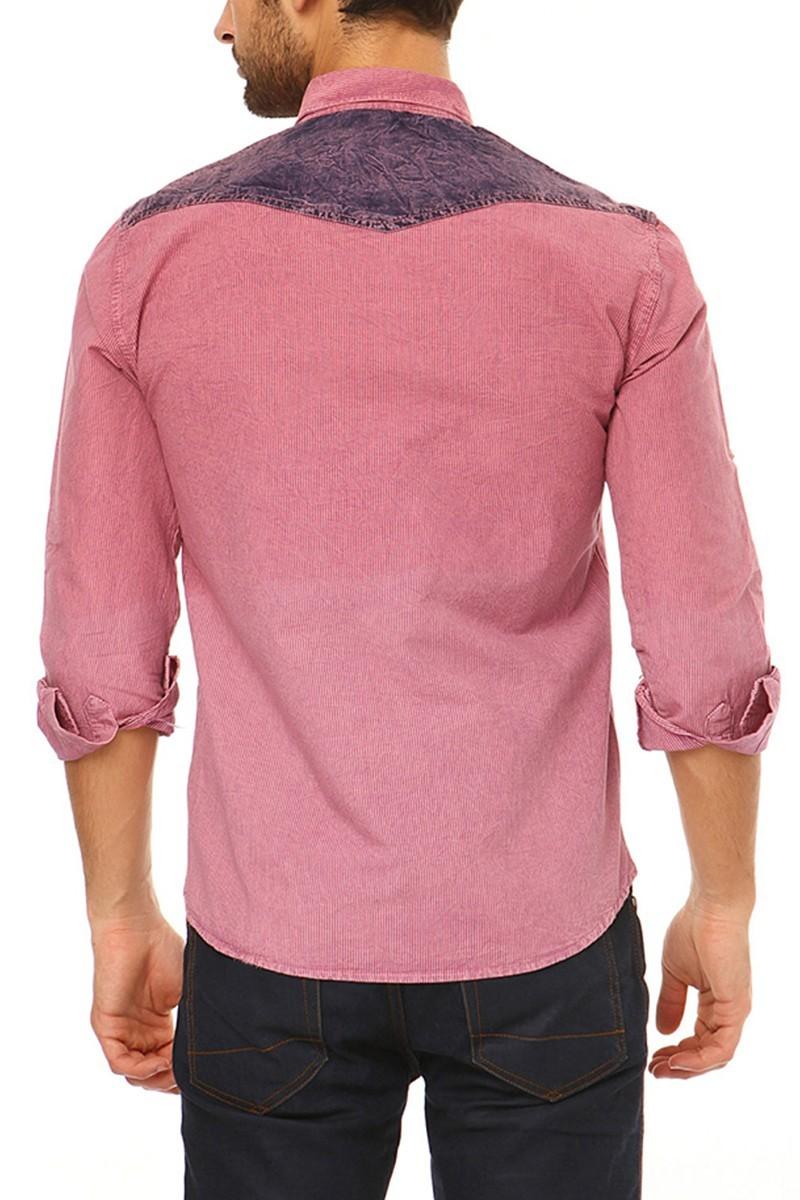 Let's Go Jeans Açık Pembe 14Y6207 Erkek Gömlek