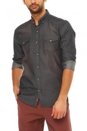 Let's Go Jeans Indigo 14Y6206 Erkek Gömlek