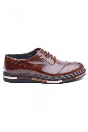 BLUESOIL Taba BS-20-27-RGN Hakiki Deri Erkek Ayakkabı