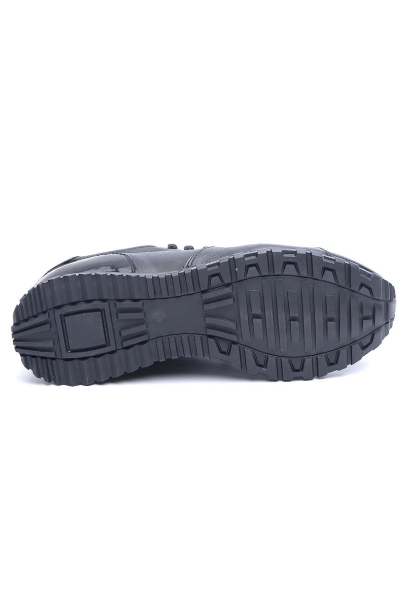 Chaos Siyah TS-21102 Hakiki Deri Erkek Ayakkabı