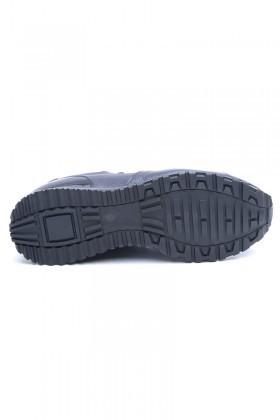 Three Star Lacivert TS-21102 Hakiki Deri Erkek Ayakkabı
