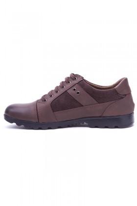 Polomen Kahverengi PLM-1120 Erkek Ayakkabı