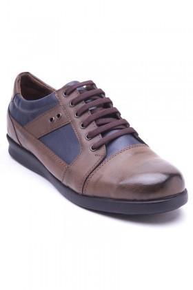 Polomen Vizon-Lacivert PLM-1130 Erkek Ayakkabı