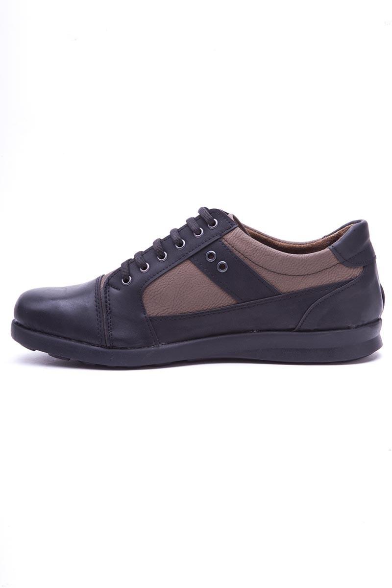 Polomen Siyah-Vizon PLM-1130 Erkek Ayakkabı