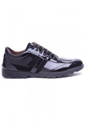 Polomen Siyah PLM-2040-RGN Erkek Ayakkabı