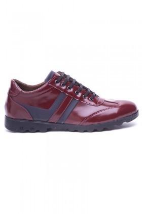 Polomen Bordo PLM-2040-RGN Erkek Ayakkabı