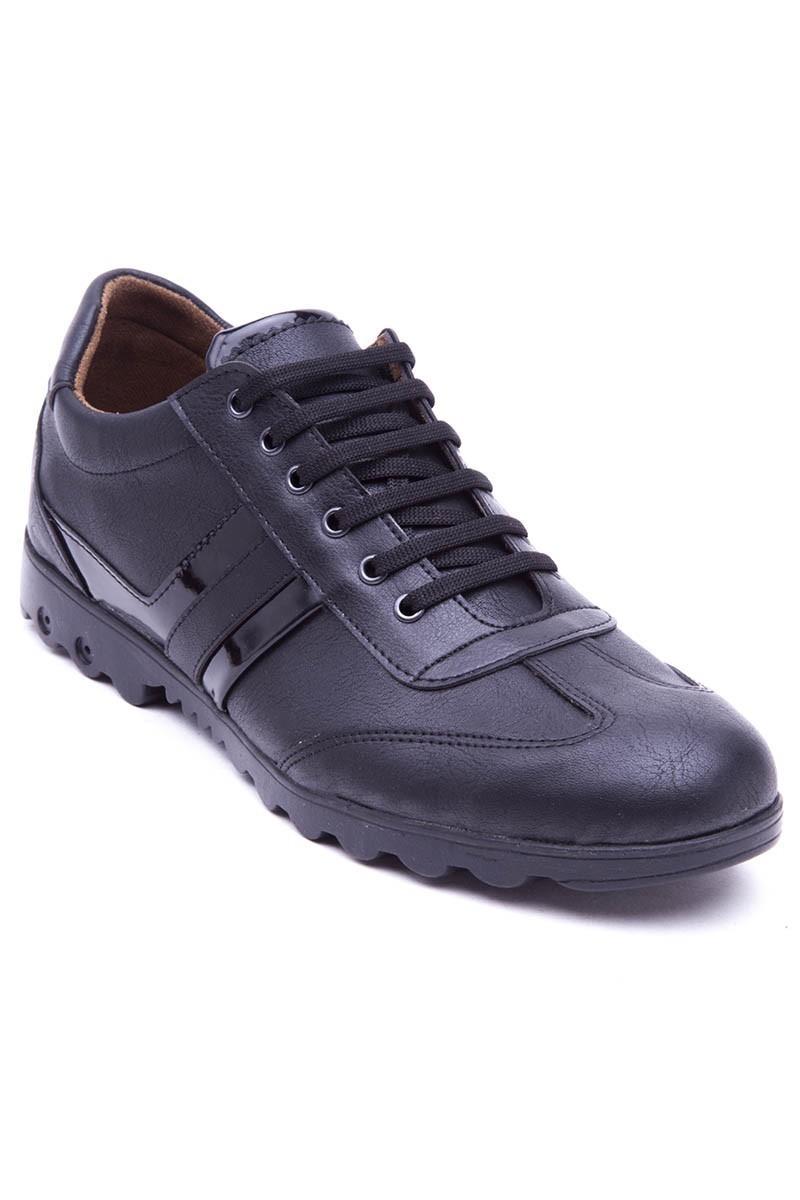 Polomen Siyah PLM-2040 Erkek Ayakkabı