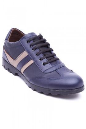 Polomen Lacivert-Bej PLM-2040 Erkek Ayakkabı