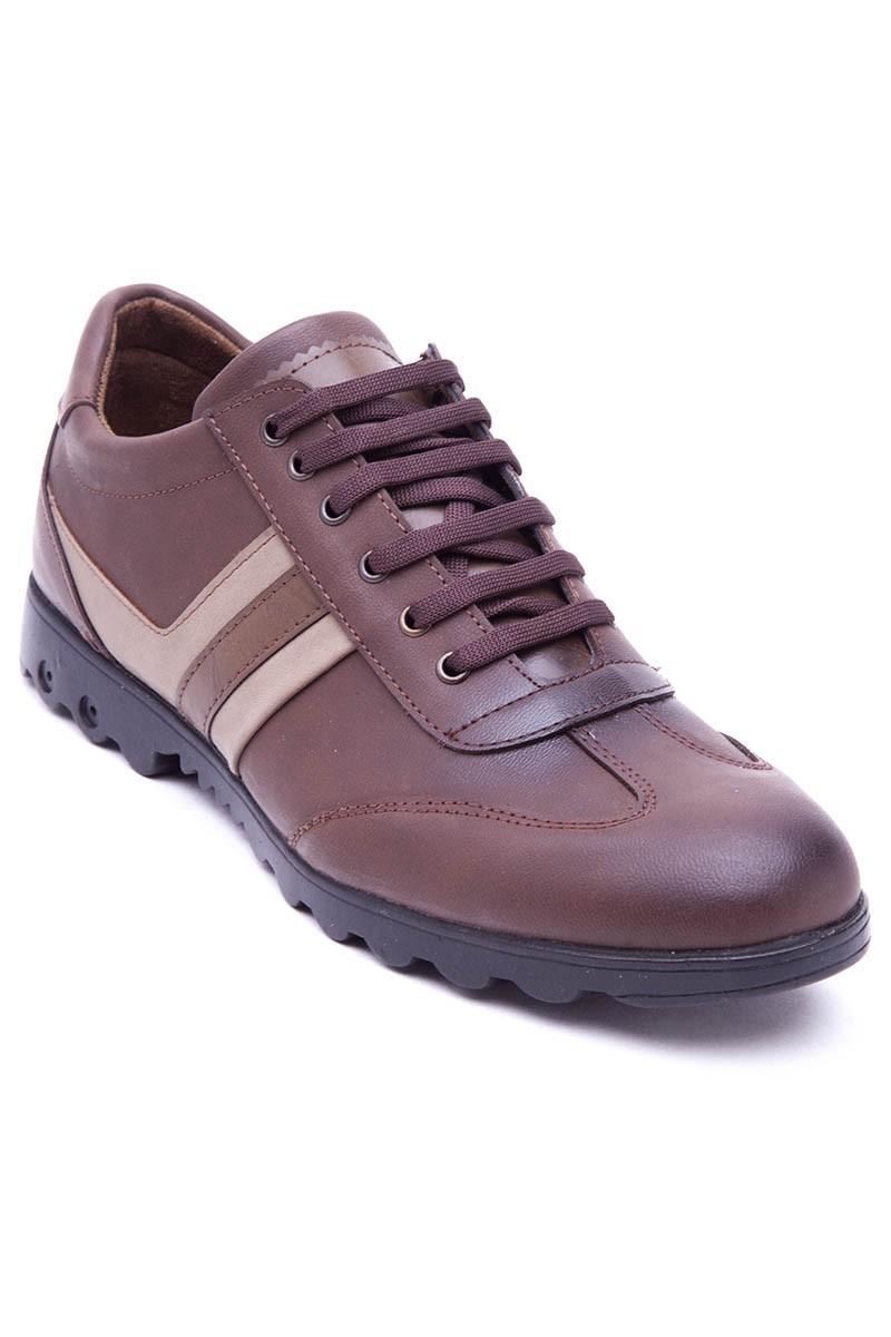 Polomen Kahverengi PLM-2040 Erkek Ayakkabı
